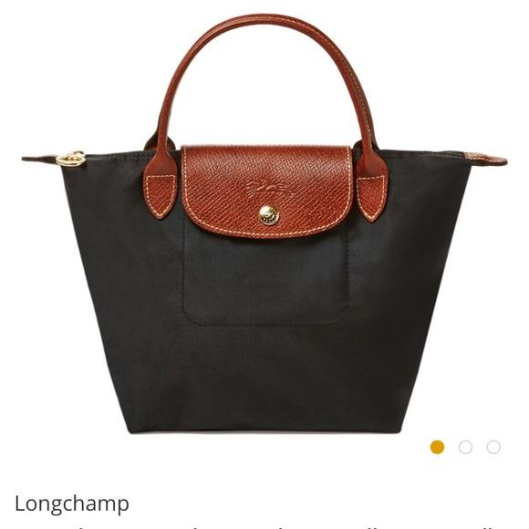 Longchamp Bags   Small Black Le Pliage Tote   Poshmark cd8854ff75